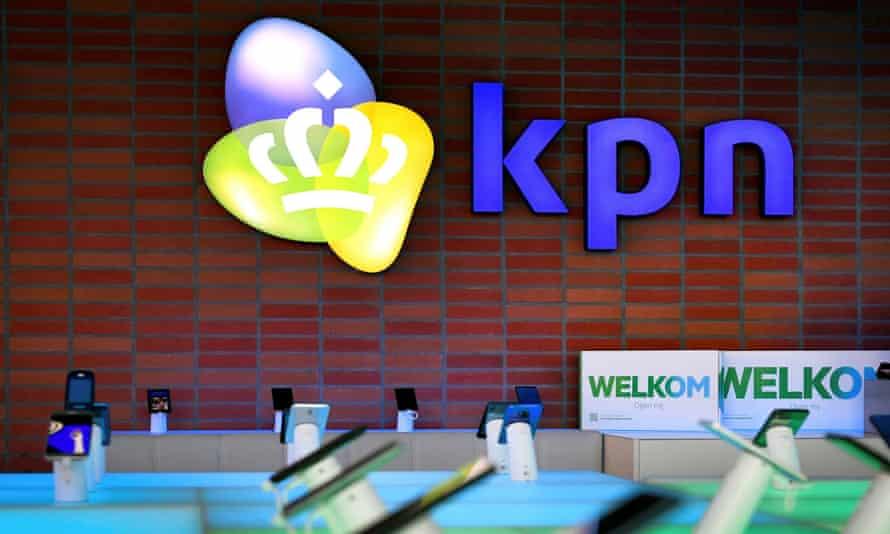 KPN, the Robbes' internet provider.