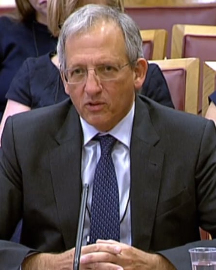 Sir Jon Cunliffe, the Bank of England's deputy governor for financial stability.