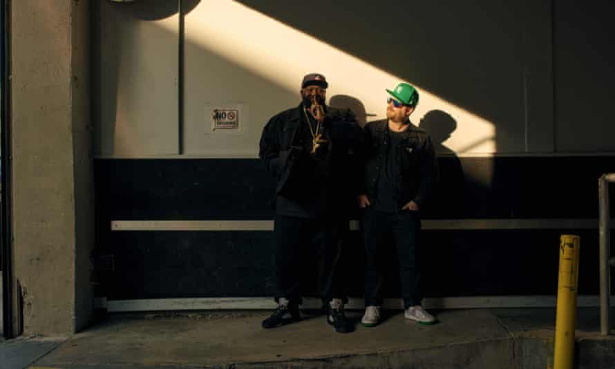 Killer Mike and El-P photographed in Los Angeles.