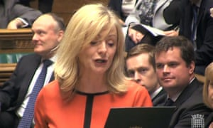 Labour MP Tracy Brabin being sworn in as the new MP for Batley and Spen.