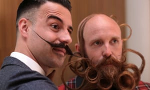 World Beard and Moustache Championships in Antwerp