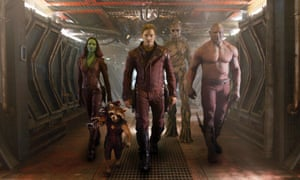 Guardians of the Galaxy … the franchise Gunn created for Disney.