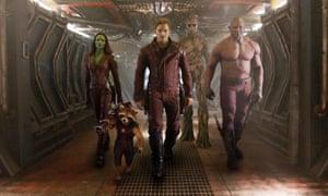 Ragtage galaxy-savers... Guardians of the Galaxy.
