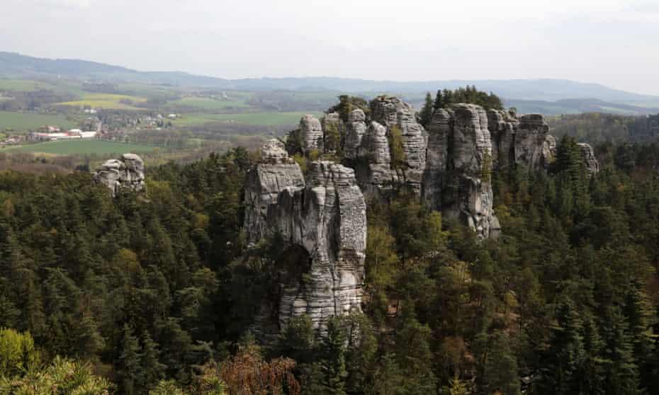 Panorama near Hrubá Skála