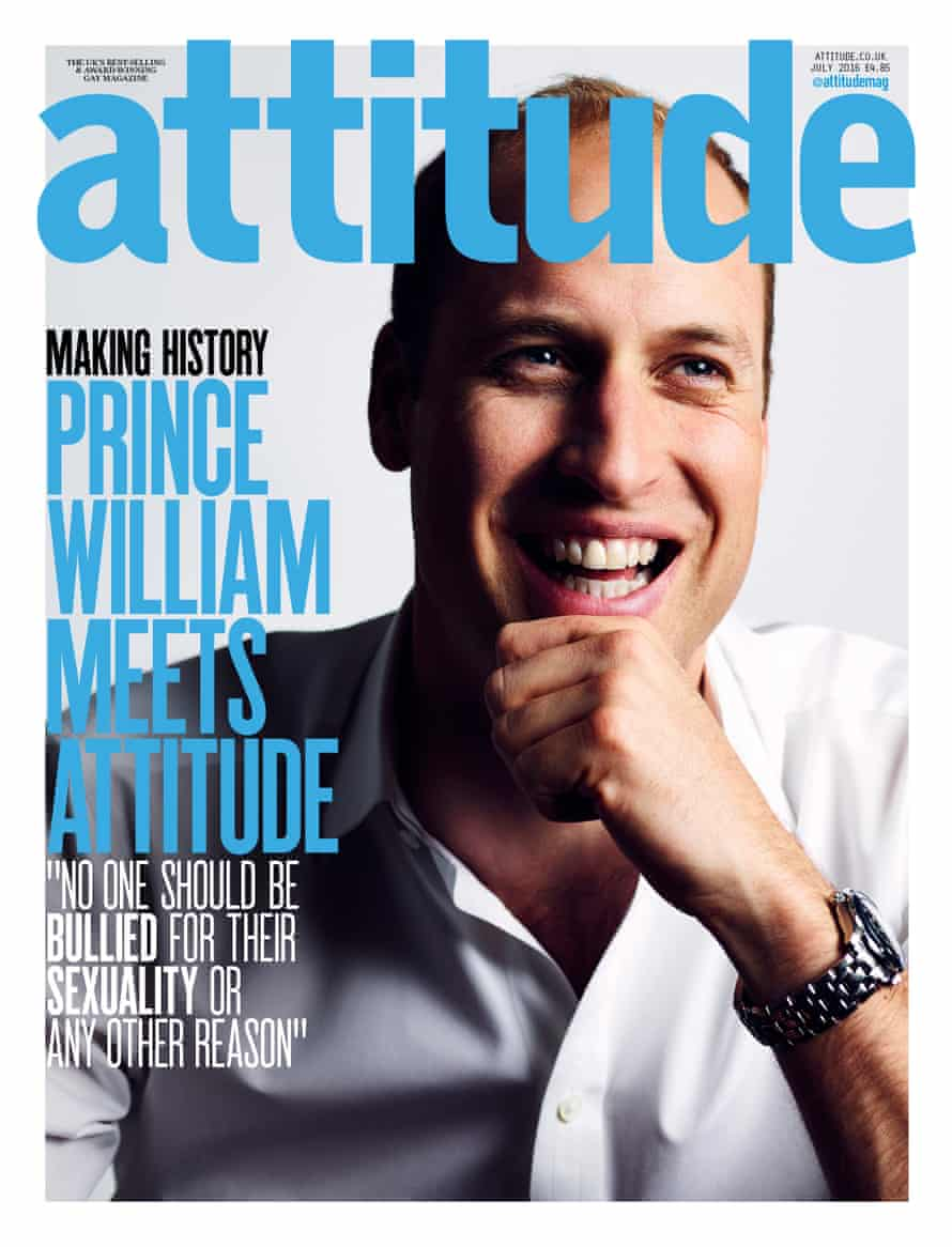 The Duke appears on the cover of the June issue of Attitude magazine.
