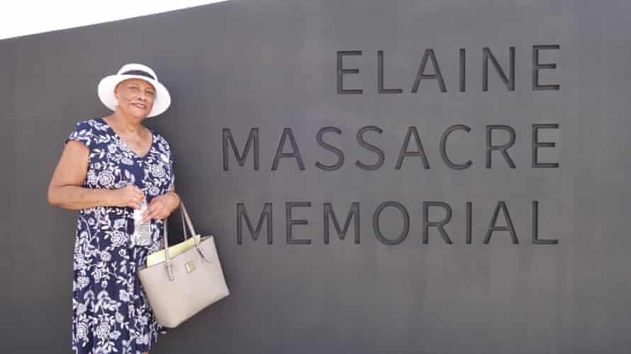 Sheila Walker, whose great-grandmother, Sallie, survived the Elaine massacre.
