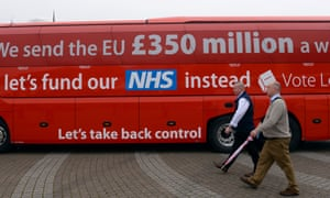'Forget £350m a week for the NHS, it will mean the transition has been bought for £2bn a month.'