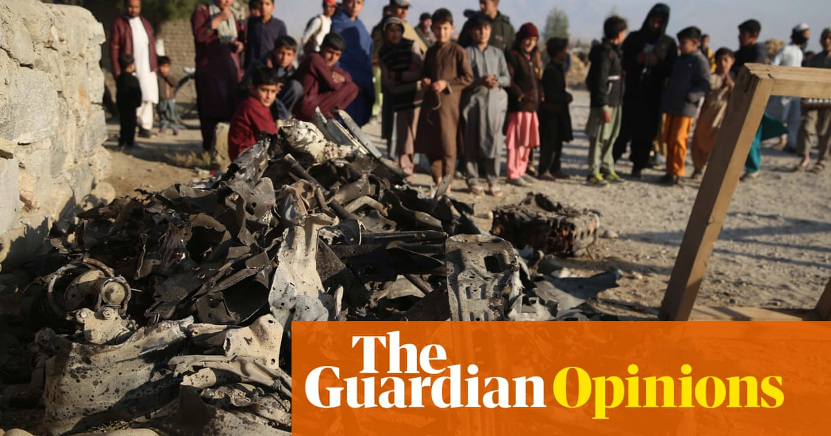 Why has so little been said about the Afghan casualties of the past 20 years?