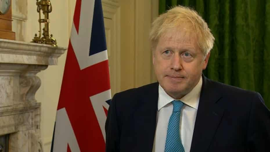 Boris Johnson, 16 October