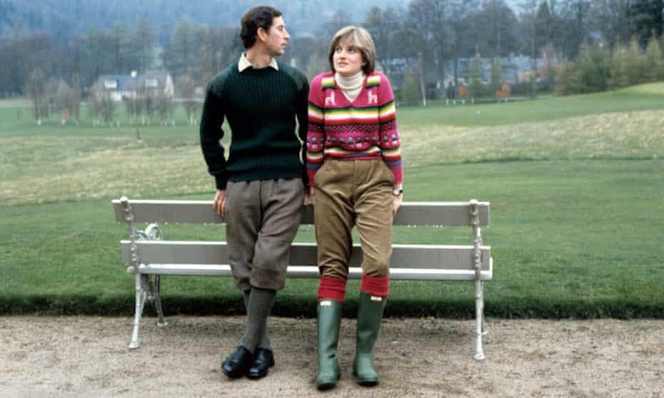 Prince Charles and Princess Diana in 1981.