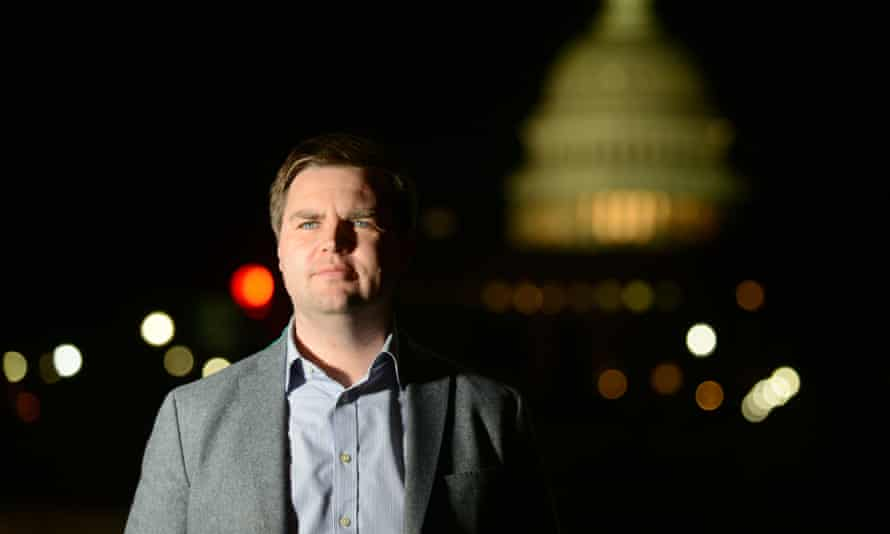 Tech billionaire Peter Thiel has contributed $10 million to support a senate bid by JD Vance, author of Hillbilly Elegy.