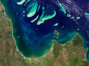 The east coast of Cape York peninsula, where coastal waters are protected as part of Great Barrier Reef World Heritage Site.