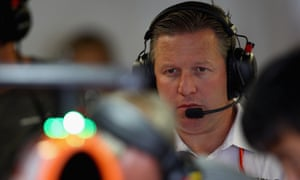 Zak Brown says a plan is in place to make McLaren competitive again