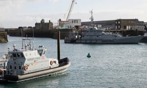 UK Border Force vessels in Dover marina
