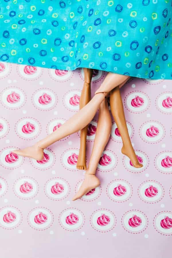 plastic dolls making love