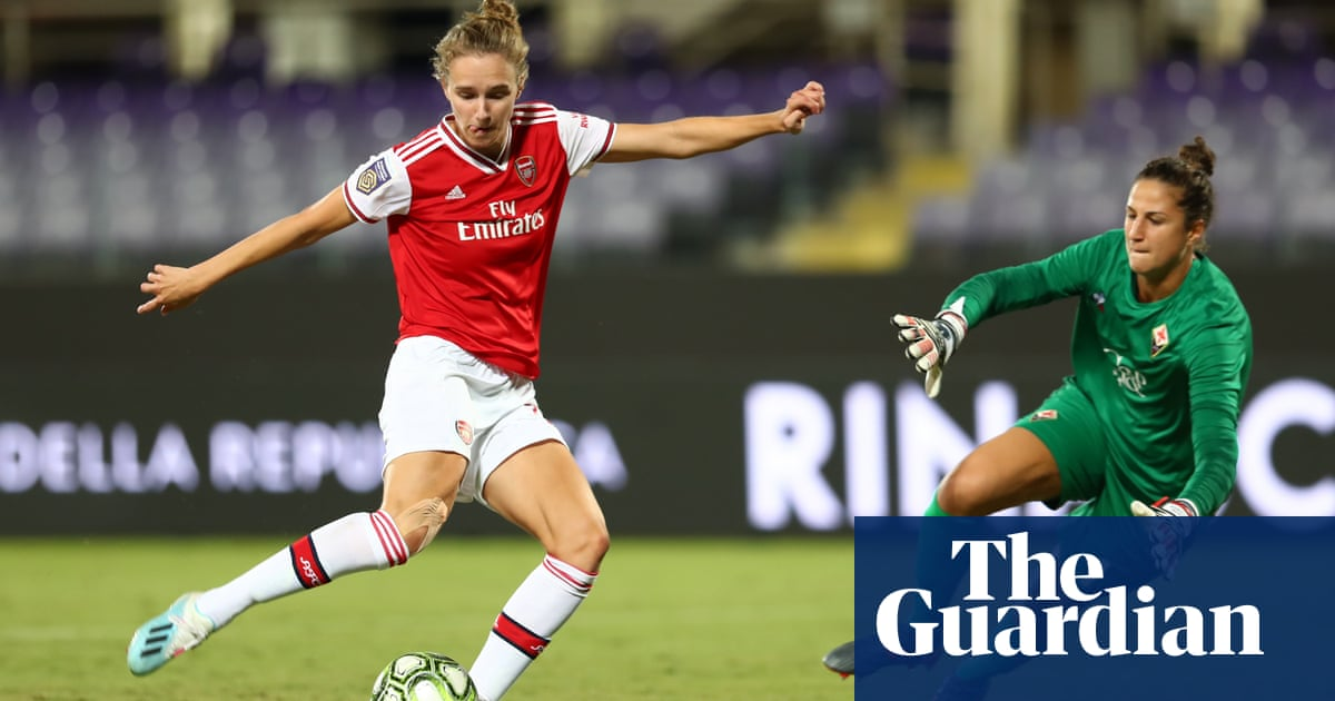 Vivianne Miedema inspires Arsenal to winning return to Champions League