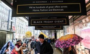 John Lewis reports record sales week thanks to Black Friday