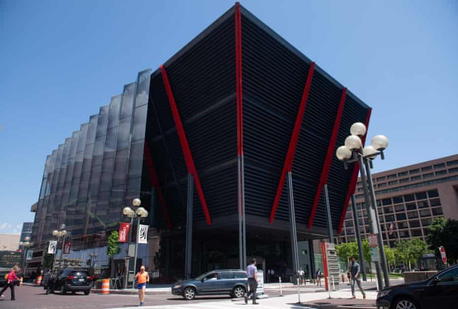 Imposing … the International Spy Museum.