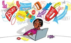 Bill Brown illustration for promo codes