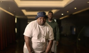 Big Narstie and Mo Gilligan in The Big Narstie Show on Channel 4.