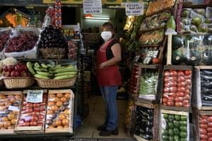Buenos Aires, Argentina: Susana Tuara, greengrocer