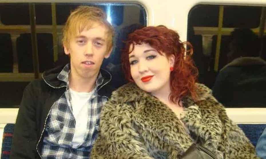 Anthony Walgate with his friend China Dunning