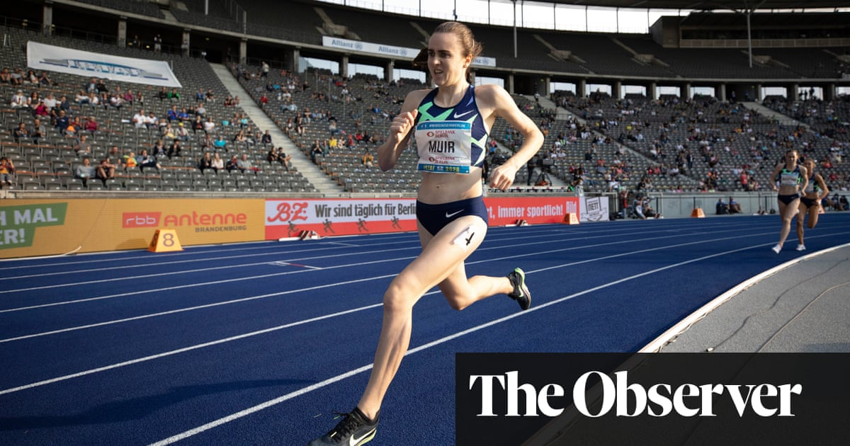 Laura Muir's journey: from chasing lambs to racing for Tokyo 1500m gold
