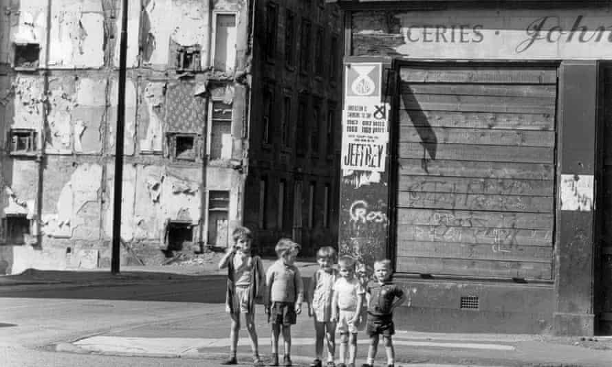 Breadalbane Street, Glasgow, in 1981.