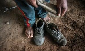 A former slave in Brazil