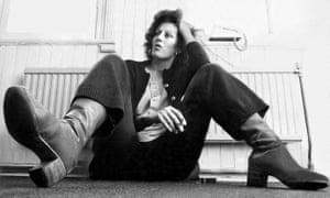 Germaine Greer in the 1970s.