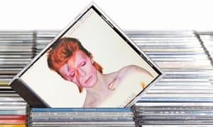 Sales of CDs more than six months old grew by 9% year on year, helped by Prince and David Bowie.