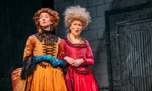 Pauline Knowles and Nicola Roy in The Belle's Stratagem.