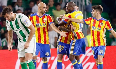 Valencia resist battling Betis amid the 'blessed madness' | Sid Lowe