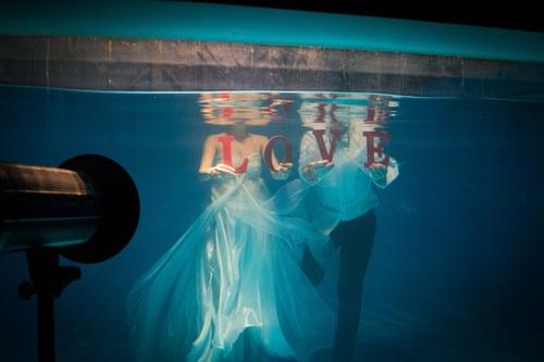 The fantasy world of pre-wedding photos: inside China's billion