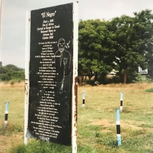 The man's grave in Gaborone