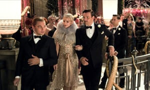 The 2012 film of The Great Gatsby