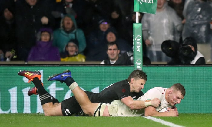 3ef0bf3a6e4 Eddie Jones is left five minutes short against All Blacks but time is on  his side | Andy Bull | Sport | The Guardian