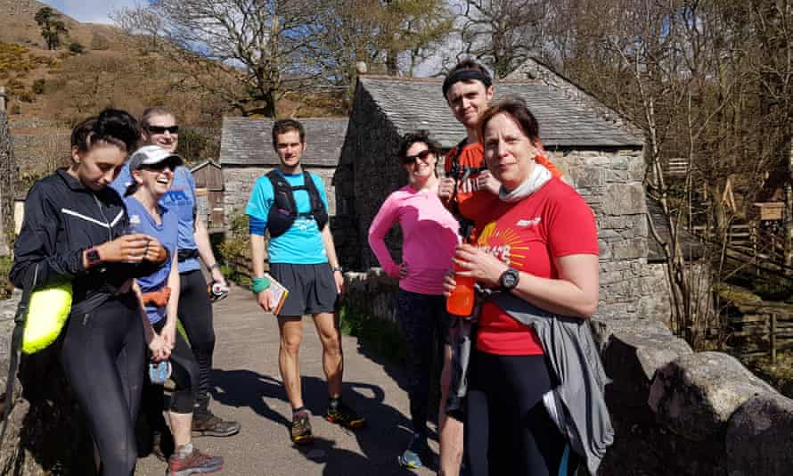Runners in the Lake District with Wild Running