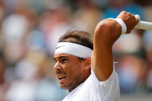 Nadal powers his way to victory against João Sousa.