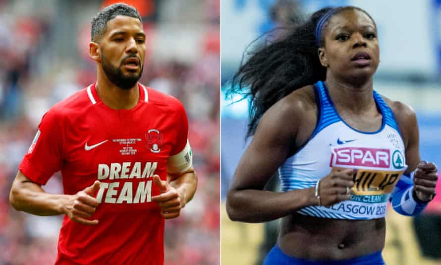 Leyton Orient midfielder Jobi McAnuff and British sprinter Asha Philip have expressed concerns about returning to sport on the basis of their BAME background
