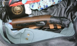 The sawn-off hunting rifle Thomas Mair used to murder Jo Cox