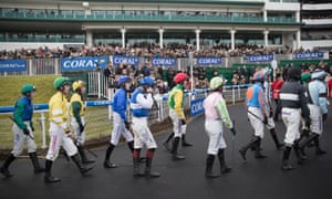 Robbie Dunne has been suspended after riding a winner at Chepstow, above, when carrying the incorrect weight.