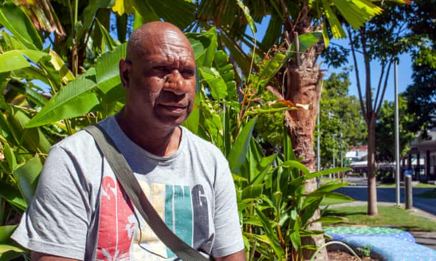 Akee Charlie, a Torres Strait islander who the Australian Border Force says is a 'non-citizen non-alien'.