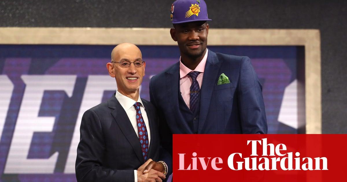 44725c08d326 NBA draft 2018  Phoenix Suns select Deandre Ayton with No 1 pick – as it  happened