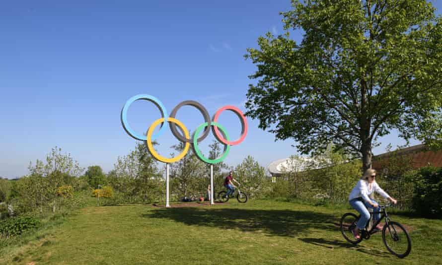 The Queen Elizabeth Olympic Park in Stratford, east London.