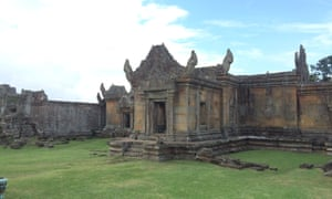 Banteay Chhmar, Cambodia. Banteay Chhmar was reconstructed, where possible, and reopened in 2014.