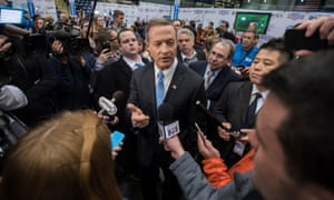Martin O'Malley in the spin room