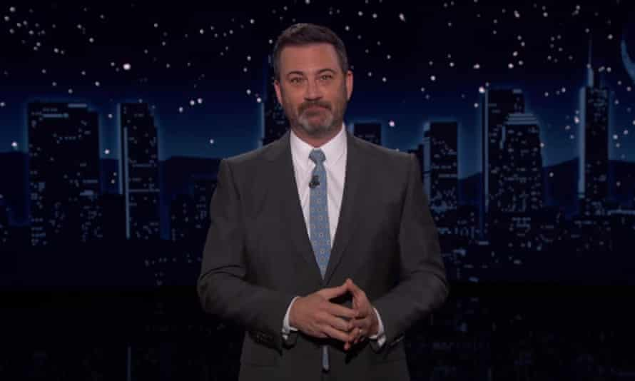 """Jimmy Kimmel on GOP opposition to bipartisan commission on 6 January attack: """"Some of them are worried that if we investigate what happened on the 6th, they might have to plead the fifth."""""""