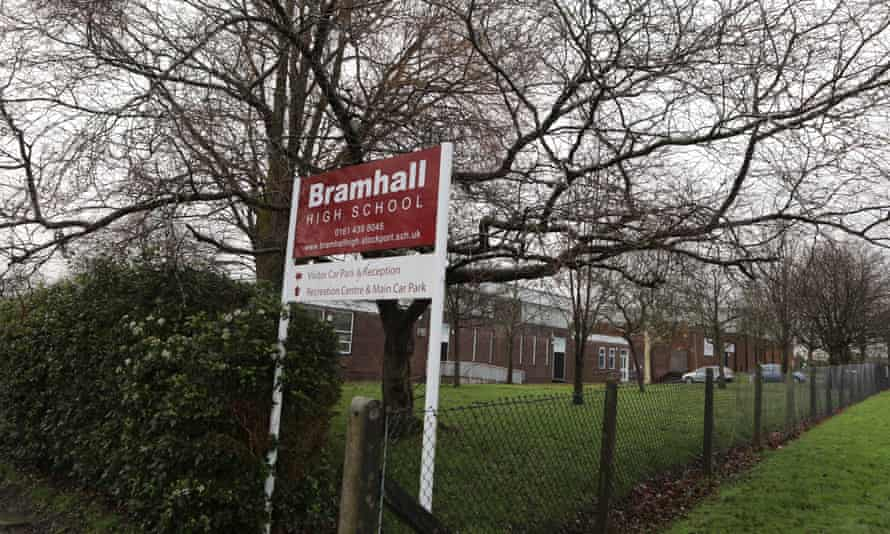 Bramhall high school in Stockport.