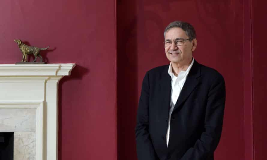 Longlisted for the 2016 Man Booker International prize: Orhan Pamuk, pictured at Somerset House.